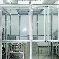 工业铝合金型材框架-洁净无尘室