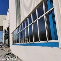 彩钢板立转窗  厂房钢板门窗厂家