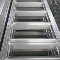 履带式收割机过沟铝跳板上下车铝梯