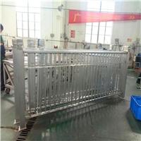 宜城集贸市场 木纹铝窗花 防护铝护栏 美观装饰