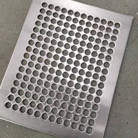 冲孔铝板厂家圆孔铝板定制幕墙板