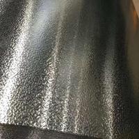 管道保温铝皮1060 防锈铝皮0.5mm 橘皮压花铝卷批发
