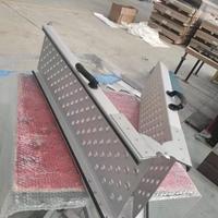 折叠式摩托车爬梯拖车铝合金爬坡板