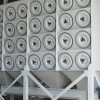 低排放斜插式滤筒除尘器