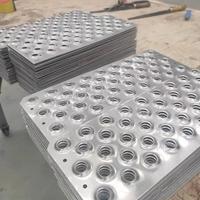 冲孔铝板厂家定制凸起孔板鱼眼孔板
