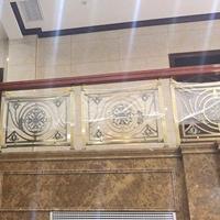 全铝艺楼梯K金雕刻镂空护栏构造科学