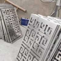 铝板切割1060铝板激光切割定制回字纹