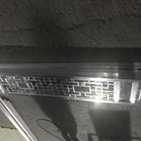造型山水铝窗花 中式铝花格专业定制装修