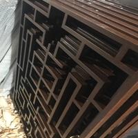 专业铝花格直销厂家 铝窗花生产