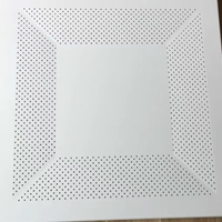 冲孔铝天花板厂,冲孔铝扣板,拼花冲孔铝扣板