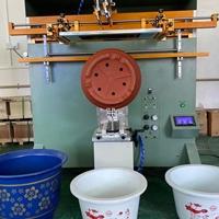 塑料花盆丝印机六角花盆滚印机厂家