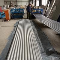 压型合金铝板,瓦楞压型合金铝板生产
