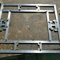 改造工程装饰铝合金窗花 木纹色铝花格厂家