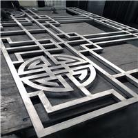仁怀文化馆 铝窗花安装细节效果图 厂家定制
