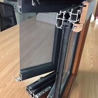 生产铝木复合门窗型材