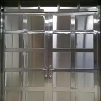 厂房不锈钢门  家用不锈钢平开门厂家
