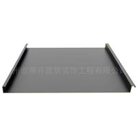 外墙装饰 幕墙装饰 装修0.7mm 25-330铝镁锰立边咬合金属屋面系统