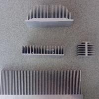 高密度铝材质散热片 插片电子散热器 大功率散热片