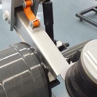 富华机械空气悬挂后桥提升桥盘刹桥气囊悬挂系统