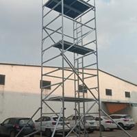 铝合金脚手架移动平台  工地工程用门式铝架