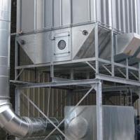 集宁炼钢转炉二次除尘脉冲袋式除尘器