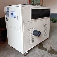 工业冷风机用途 风冷式工业冷风机安装示意图  风冷式工业冷风机特点