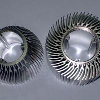 铝合金太阳花散热器型材 定做高难度散热器 异型散热器定制加工
