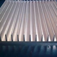 梳子型散热器铝型材 广美铝业