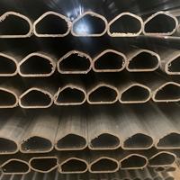 外贸出口玻璃装饰格条铝材