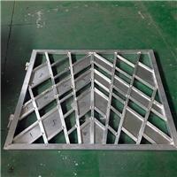 亳州体育馆   木纹铝窗花 新中式条形铝窗花吊顶 厂家销售