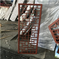 古镇建设中式铝窗格设计