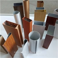 转印铝方通 木纹铝方通 转印铝方管厂家