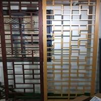 宁安舞场 木纹铝窗花 绿色环保铝窗花 造型设计