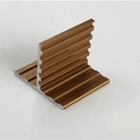 金色阳极氧化铝型材 广美铝业