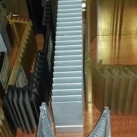 广美铝业 开模定制各类散热器铝型材