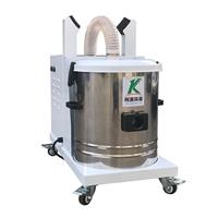 供应大功率金属打磨抛光切割工业吸尘器