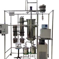 现货硬汉视频app污版分子蒸馏仪AYAN-F80S蒸馏温度低