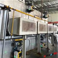 正英纺织水刺烘干系统天然气热风烘干燃烧机
