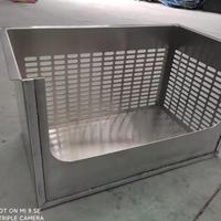5052合金铝板冲孔定制房车配件