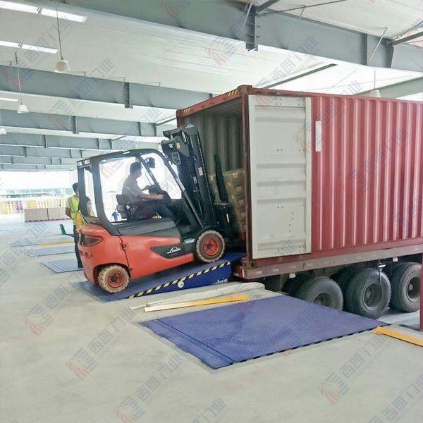 南通物流园固定式装卸货平台