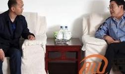 高喜柱会见克莱斯勒汽车公司中国区合作伙伴大丰嘉华实业有限公司总经理高嘉华一行