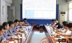 淄博市委副书记马晓磊来山铝公司调研