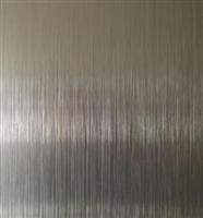 拉丝铝方通 拉丝带槽铝型材 拉丝铝方管