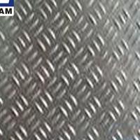 西南铝1060纯铝板 三条筋花纹铝板 防滑铝板