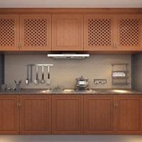 铝合金简易厨柜 铝合金组装橱柜