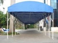 柏森专业定制各种推拉帐篷、车库篷