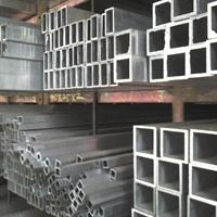 库存大量5754【80808】氧化铝方管批发