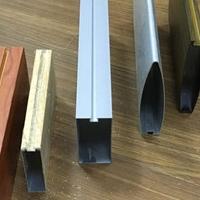 U形方通仿木纹铝方通生产厂家