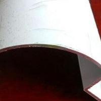 湖北半弧形铝圆角型材多少钱18588600309