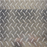 现货销售花纹铝板 五条筋花纹铝板 防滑铝板